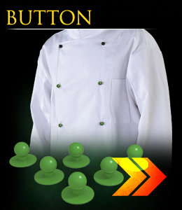 BUTTON - Guziki do bluzy kucharskiej z serii Chef`s Kitchen.